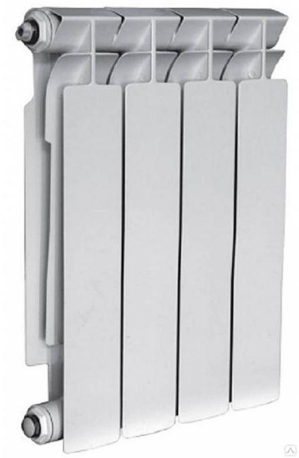 Радиатор биметаллический TENRAD BM 500х80х80 4 секций