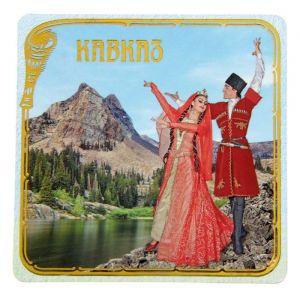 Магнит «Кавказ. Лезгинка»