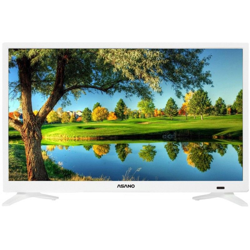 Телевизор ASANO 24LH7011T-SMART белый
