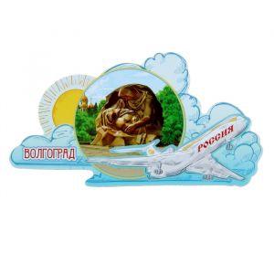 Магнит в форме самолёта «Волгоград»