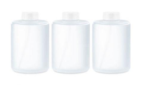 Сменные блоки-насадки для дозатора Xiaomi Mijia AutomaticFoam Soap Dispenser (3шт) белый