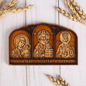 Триптих «Молитва Водителя», 3 иконы 895723