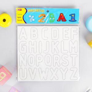 Раскраска - алфавит английского языка, 3 фломастера