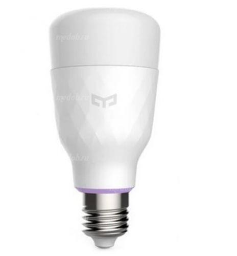 Лампа светодиодная Yeelight smart LED Bulb color (YLDP06YL)
