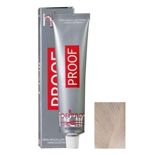 Крем-краска для волос Proof 10.01 блондин светло-пепельный, 60 мл