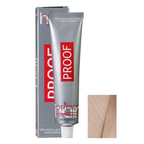 Крем-краска для волос Proof 10.32 светлый блондин бежевый, 60 мл