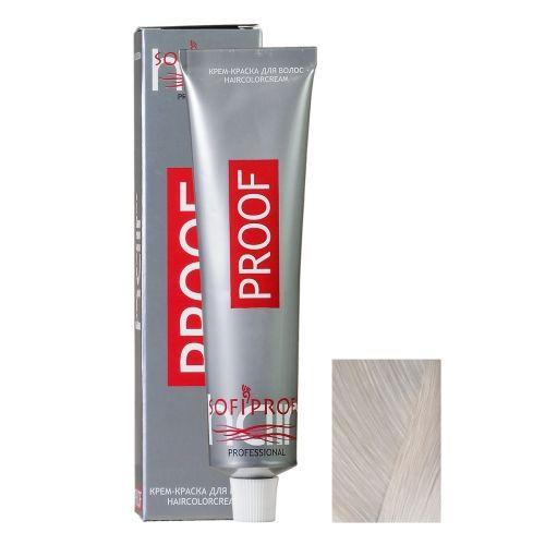 Крем-краска для волос Proof 11.1 экстра платиновый пепел, 60 мл