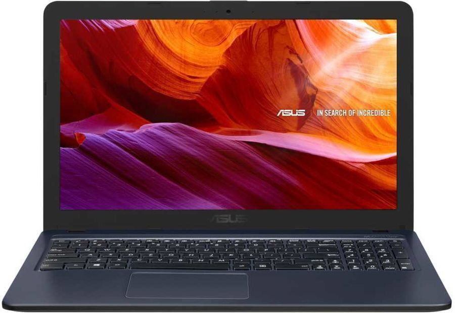 "Ноутбук ASUS Х543BA-DM624 (15.6"" FHD/A4-9125/4GB/256GB SSD/DVDRW/ENDLESS STAR/GREY) (90NB0IY7-M08710)"