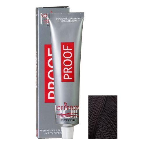 Крем-краска для волос Proof 3.00 темный шатен интенсивный, 60 мл