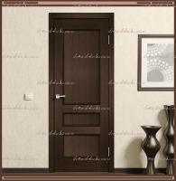 Межкомнатная дверь  CLASSICO 3P Глухое Мокка :