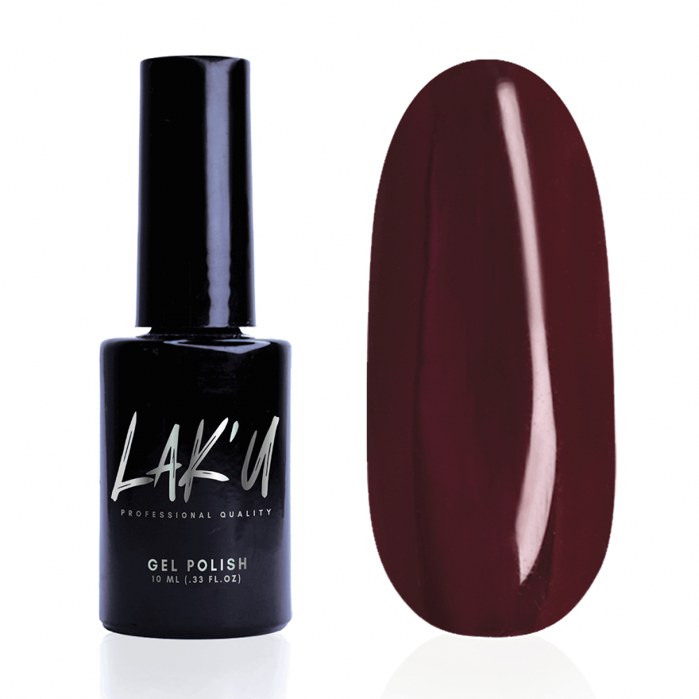 LAK'U гель-лак Ruby Red R 16, 10 мл