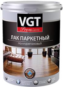 Лак Паркетный Полиуретановый VGT Premium 0.9кг Матовый; Глянцевый / ВГТ Премиум