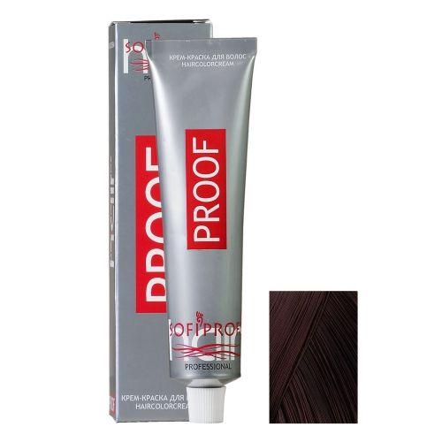 Крем-краска для волос Proof 4.00 шатен интенсивный, 60 мл