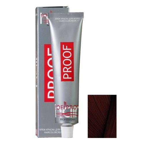 Крем-краска для волос Proof 4.77 шатен шоколадный, 60 мл