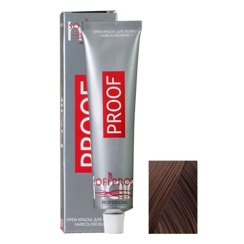 Крем-краска для волос Proof 6.0 темно-русый, 60 мл