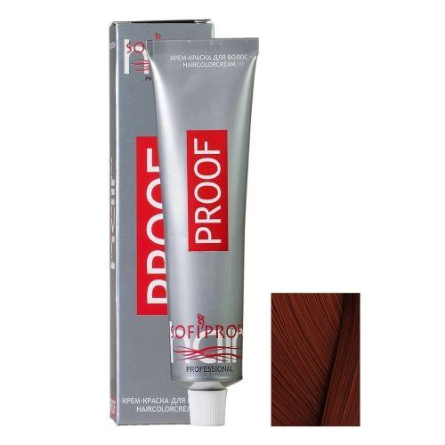 Крем-краска для волос Proof 6.4 темно-русый медный, 60 мл