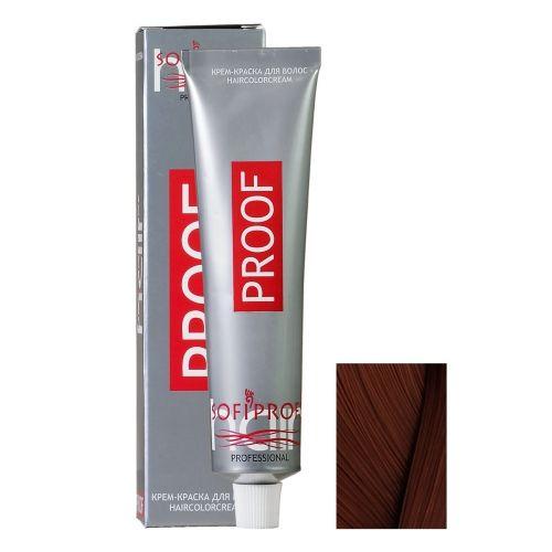 Крем-краска для волос Proof 6.77 темно-русый шоколадный, 60 мл