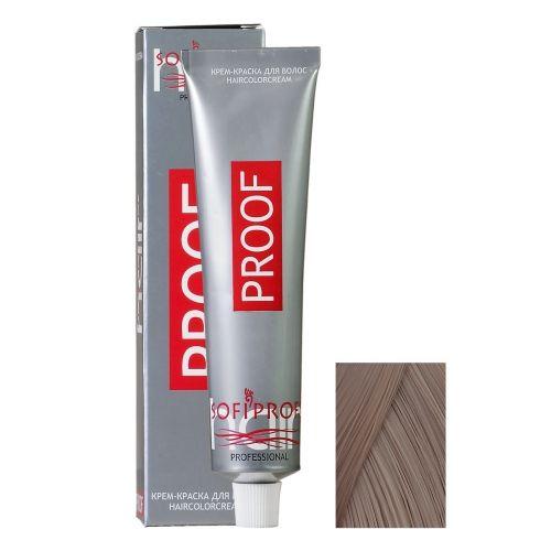 Крем-краска для волос Proof 7.1 пепельно-русый, 60 мл