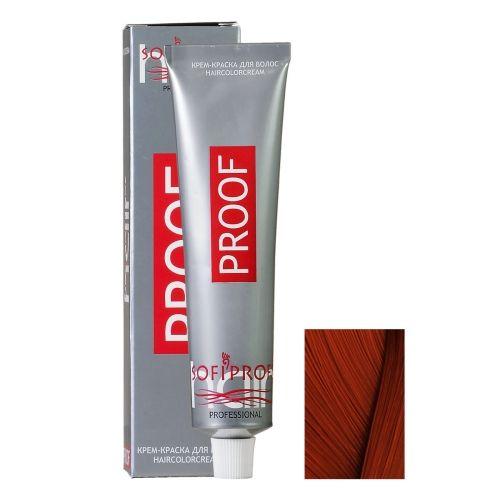 Крем-краска для волос Proof 7.43 русый медно-золотистый, 60 мл