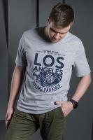 Мужская футболка 1302-08, кулирка