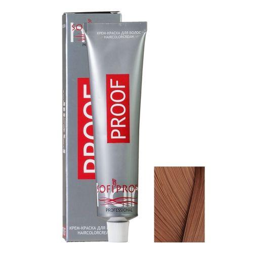 Крем-краска для волос Proof 8.7 светло-русый кофе с молоком, 60 мл