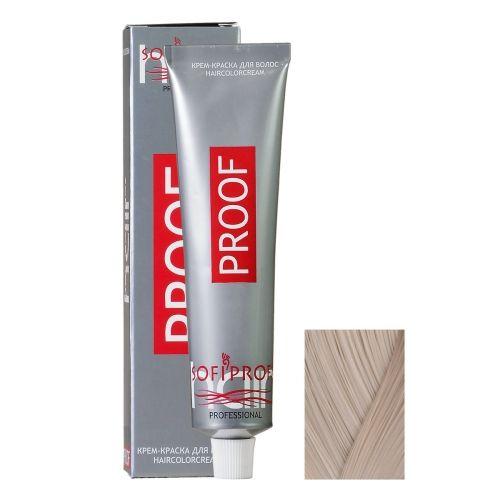 Крем-краска для волос Proof 9.1 блондин пепельный, 60 мл