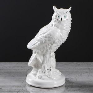 """Копилка """"Сова мини"""", белый цвет, 20 см,"""
