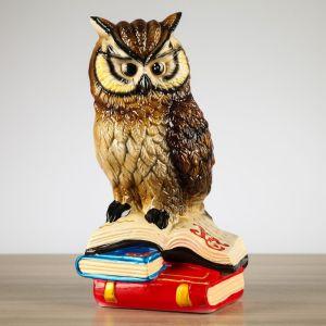 """Копилка """"Филин на книгах"""", разноцветная, 29 см,"""