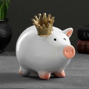 """Копилка """"Свинка принцесса"""" 15х12х17см   3826813"""