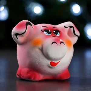 Копилка «Свинка» малая новая, 12см   3678926