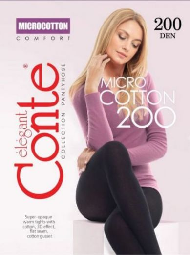 колготки CONTE MicroCotton 200
