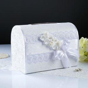 Коробка для денег «Аврора», белая, неразборная 3041987