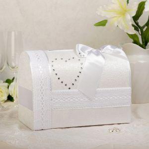 Коробка для денег «Альбина», белая, неразборная 3183819