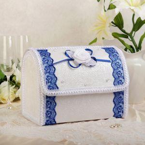 Коробка для денег «Альт», синяя, разборная 3041953