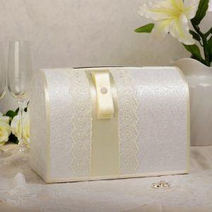 Коробка для денег «Аля», айвори, неразборная 3041943