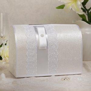 Коробка для денег «Аля», белая, неразборная 3183840