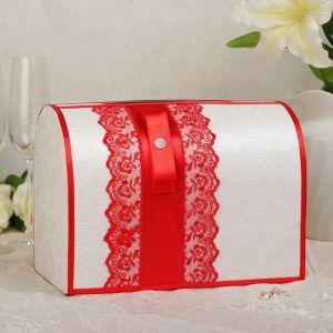 Коробка для денег «Аля», красная, неразборная 3041945