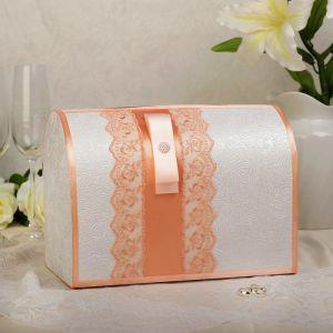 Коробка для денег «Аля», персиковая, неразборная 3041941