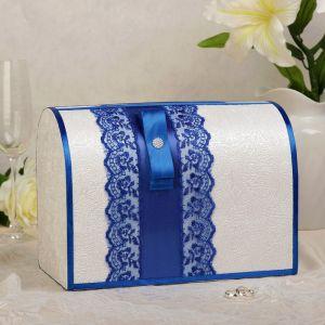 Коробка для денег «Аля», синяя, неразборная 3041944