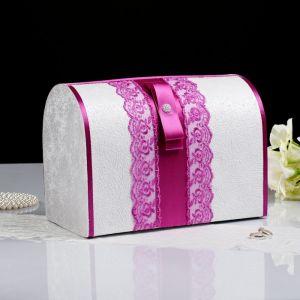 Коробка для денег «Аля», фуксия, неразборная 3041795