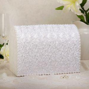 Коробка для денег «Анабель», белая, неразборная 3183843