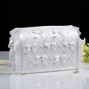 Коробка для денег «Бант», белая, неразборная 3041707