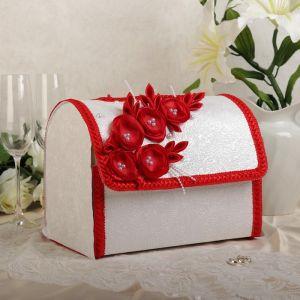 Коробка для денег «Бриз», красная, разборная 3042015