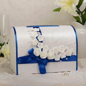 Коробка для денег «Викки», синяя, неразборная 3041626