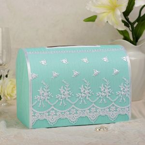 Коробка для денег №А1, тиффани, неразборная 3183941