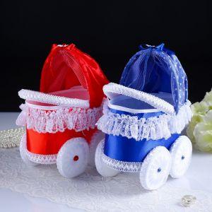 Набор колясок «На дочку, на сына», красная и синяя, 2 шт.