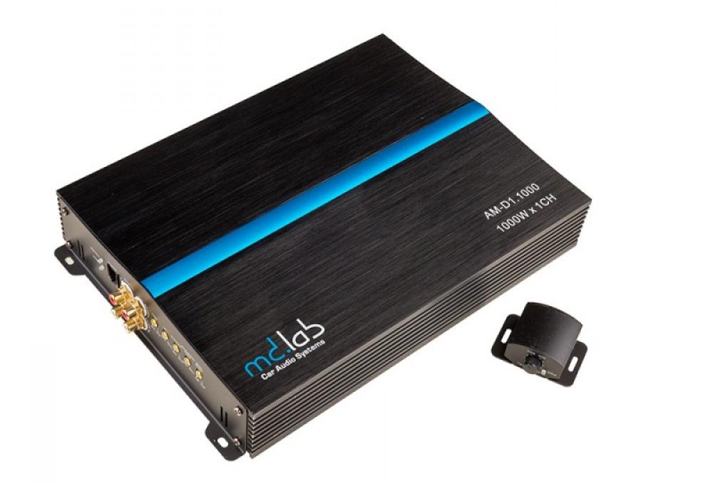 MD.Lab AM-D1.1000 Автомобильный усилитель