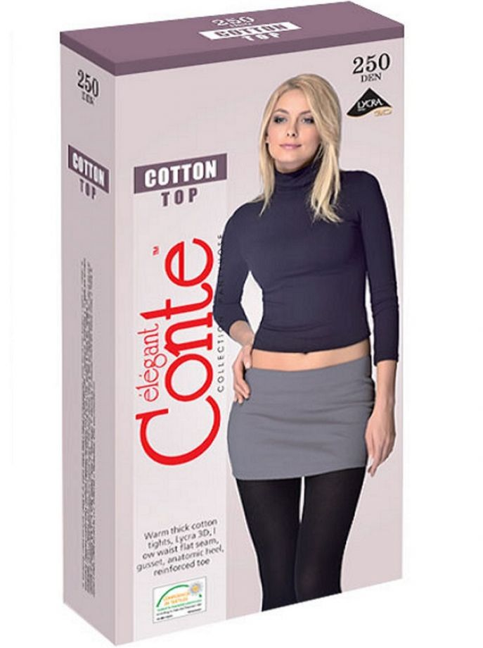 колготки CONTE Cotton TOP 250