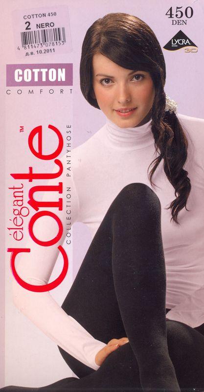 колготки CONTE Cotton 450