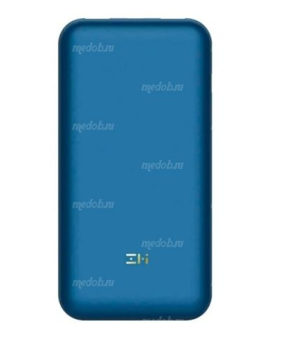 Внешний аккумулятор Xiaomi ZMI Power Bank 10 Pro 20000mAh Dark Blue QB823